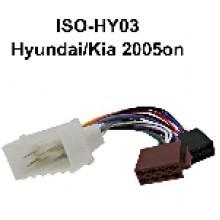HYUNDAI TO ISO WIRING Adaptor (2005 ON)