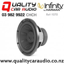 "Infinity Ref-1070 10"" 1000W (250W RMS) Switchable 2 or 4 ohm Single Voice Coil Car Subwoofer with Easy Payments"