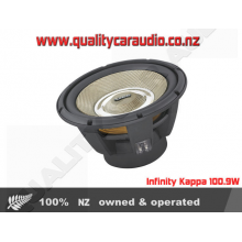 """Infinity Kappa 100.9W 10"""" subwoofer with selectable 2- or 4"""