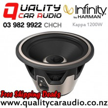 "Infinity Kappa 1200W 12"" 2000W (500W RMS) 4 ohm Car Subwoofer with Easy Finance"