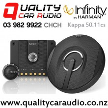 "Infinity Kappa 50.11cs 5.25"" 255W (85W RMS) 2 Way Components Car Speaker (pair) with Easy Finance"