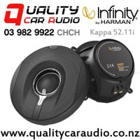 """Infinity Kappa 52.11i 5.25"""" 165W (55W RMS) 2 Way Coaxial Car Speakers (pair) with Easy Finance"""