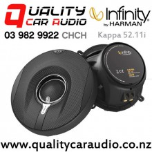 "Infinity Kappa 52.11i 5.25"" 165W (55W RMS) 2 Way Coaxial Car Speakers (pair) with Easy Finance"