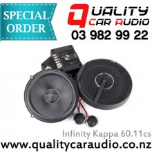 "Infinity Kappa 60.11cs 6.75"" 270W component speaker - Easy LayBy"
