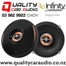 "Infinity Kappa 62ix 6.5"" 225W (75W RMS) 2 Way Coaxial Car Speakers (pair) with Easy Finance"
