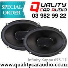 "Infinity Kappa 693.11i 6""x9"" 330W 3 way speaker - Easy LayBy"