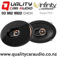 "Infinity Kappa 93ix 6x9"" 330W (110W RMS) 3 Way Coaxial Car Speakers (pair) with Easy Finance"