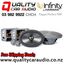 "Infinity Kappa Perfect 900 6x9"" 600W (150W RMS) 3 Way Car Component Speaker (pair) with Easy Finance"