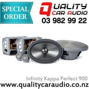 """Infinity Kappa Perfect 900 6x9"""" 600W component speakers - Easy Layby"""