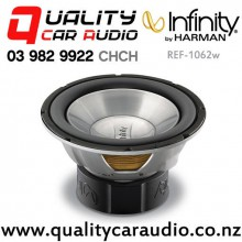 "Infinity REF-1062w 10"" 1100W (275W RMS) Dual 4 ohm Voice Coil Car Subwoofer with Easy Finance"