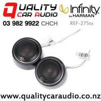 """Infinity REF-275tx 3/4"""" 135W (45W RMS) Textile Dome Tweeter (pair) with Easy Finance"""
