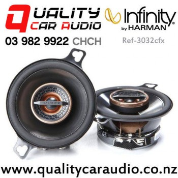 """Infinity Ref-3032cfx 3.5"""" 75W (25W RMS) 2 Way Coaxial Car Speakers (pair) with Easy Payments"""