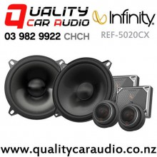 "Infinity REF-5020CX 5.25"" 195W (65W RMS) 2 Way Component Car Speakers (pair) with Easy Finance"