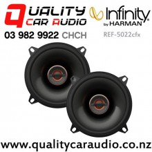 "Infinity REF-5022cfx 5.25"" 135W (45W RMS) 2 Way Coaxial Car Speakers (pair) with Easy Finance"