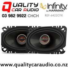 "Infinity REF-6422CFX 4x6"" 135W (45W RMS) 2 Way Coaxial Car Speakers (pair) with Easy Finance"
