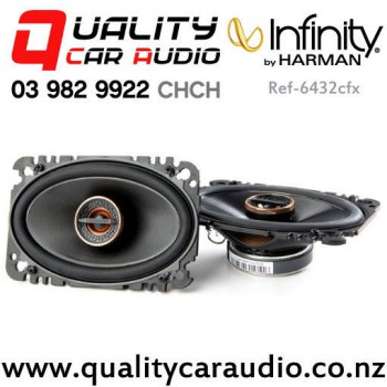 """Infinity Ref-6432cfx 4x6"""" 135W (45W RMS) 2 Way Coaxial Car Speakers (pair) with Easy Payments"""