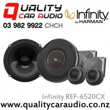 "Infinity REF-6520CX 6.75"" 270W (90W RMS) 2 Ways Car Component Speaker (Pair) with Easy LayBy"