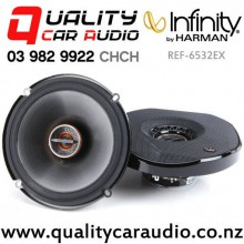 "Infinity Ref-6532EX 6.5"" 165W (55W RMS) 2 Way Coaxial Car Speakers (pair) with Easy Payments"