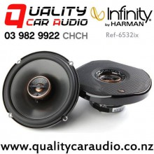 "Infinity Ref-6532ix 6.5"" 180W (60W RMS) 2 Way Coaxial Car Speakers (pair) with Easy Payments"