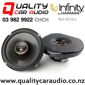 """Infinity Ref-6532ix 6.5"""" 180W (60W RMS) 2 Way Coaxial Car Speakers (pair) with Easy Payments"""