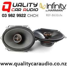 "Infinity Ref-8632cfx 6x8""/5x7"" 180W (60W RMS) 2 Way Coaxial Car Speakers (pair) with Easy Payments"