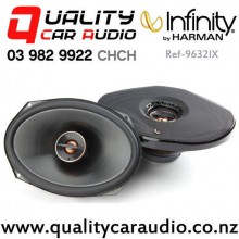"Infinity Ref-9632IX 6x9"" 300W (100W RMS) 2 Way Coaxial Car Speakers (pair) with Easy Payments"