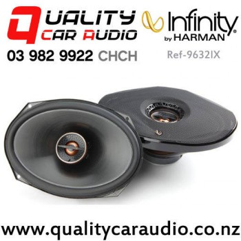 """Infinity Ref-9632IX 6x9"""" 300W (100W RMS) 2 Way Coaxial Car Speakers (pair) with Easy Payments"""