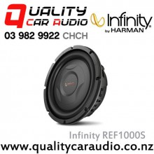 "Infinity REF1000S 10"" 800W (200W RMS) Shallow Mount Car Subwoofer with Easy LayBy"