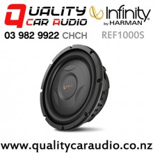 "Infinity REF1000S 10"" 800W (200W RMS) Shallow Mount Car Subwoofer with Easy Finance"