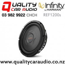 "Infinity REF1200s 12"" 1000W (250W RMS) Shallow Mount Car Subwoofer with Easy Finance"