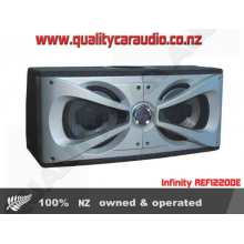 "Infinity REF1220DE 2 x 12"" Subs in Ported Box - Easy LayBy"