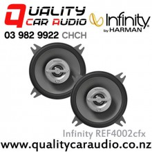 "Infinity REF4002cfx 4"" 105W  (70W RMS) 2 Way Car Speaker with Easy LayBy"