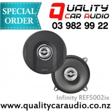 "Infinity REF5002ix 5.25"" 135W 2 WAYS COAXIAL SPEAKERS with Easy LayBy"