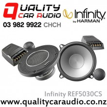 "Infinity REF5030CS 5.25"" 225W(75W RMS) 2 Ways Car Component Speakers (Pair) with Easy LayBy"