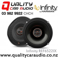 "Infinity REF6522IX 6"" 180W Max 2 Way Coaxial Car Speakers (Pair) with Easy LayBy"