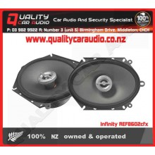 "Infinity REF8602cfx 5x7"" 6x8"" 180W 2 way speakers - Easy LayBy"