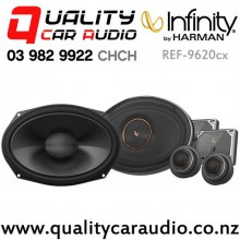 "Infinity REF9620CX 6x9"" 375W (125W RMS) 2 Way Car Component Speakers (Pair) with Easy Finance"