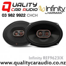 "Infinity REF9623IX 6x9"" 300W Max Coaxial Car Speakers (Pair) with Easy LayBy"