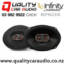 "Infinity REF9623IX 6x9"" 300W (100W RMS) 2 Way Coaxial Car Speakers (pair) with Easy Finance"