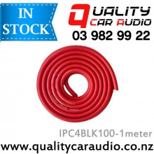 IPC4RED100-1meter 4 Gauge Power Cable 1 Meter - RED - Easy LayBy