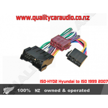 ISO-HY02 Hyundai to ISO 1999 2007 LayBy