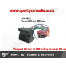 Peugeot Citroen to ISO wiring harness 05 up - Easy LayBy