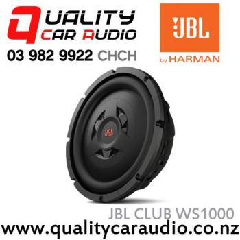 "JBL CLUB WS1000 10""  800W Shallow-mount Car Subwoofer with Easy LayBy"
