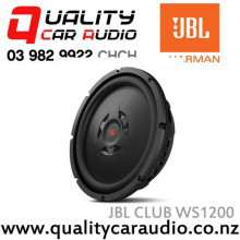 "JBL CLUB WS1200 12"" 1000W Shallow-mount Subwoofer with Easy LayBy"