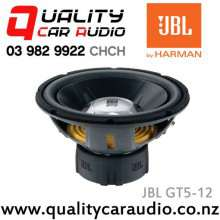 "JBL GT5-12 12"" (30cm) 1100W Single Voice Coil Subwoofer with Easy Finance"