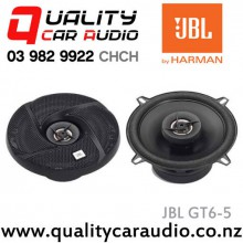 "JBL GT6-5 5.25"" (13cm) 105W 2 Ways Coaxial Car Speakers (Pair) with Easy Finance"