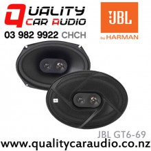 "JBL GT6-69 6x9"" 210W 3 Ways Coaxial Car Speakers (Pair) with Easy Layby"