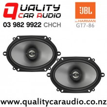 "JBL GT7-86 5x7"" / 6x8"" 180W (60W RMS) 2 Ways Coaxial Car Speakers (pair) with Easy Finance"