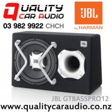 "JBL JC-GTBASSPRO12 12""  (30cm) 450W Amplifier (Active) Powered Car Subwoofer Enclosure with Easy Layby"