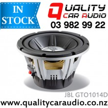 "JBL GTO1014D 10"" (25cm) 1400W GTO SERIES DUAL VOICE COIL SUBWOOFER with Easy LayBy"